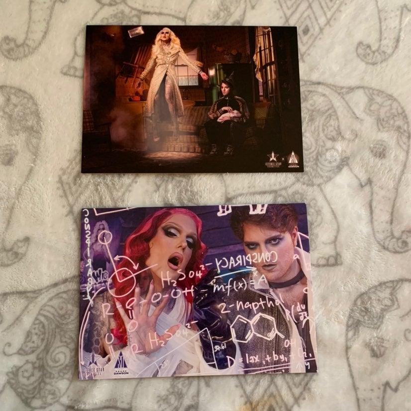 Jeffree Star Conspiracy postcards