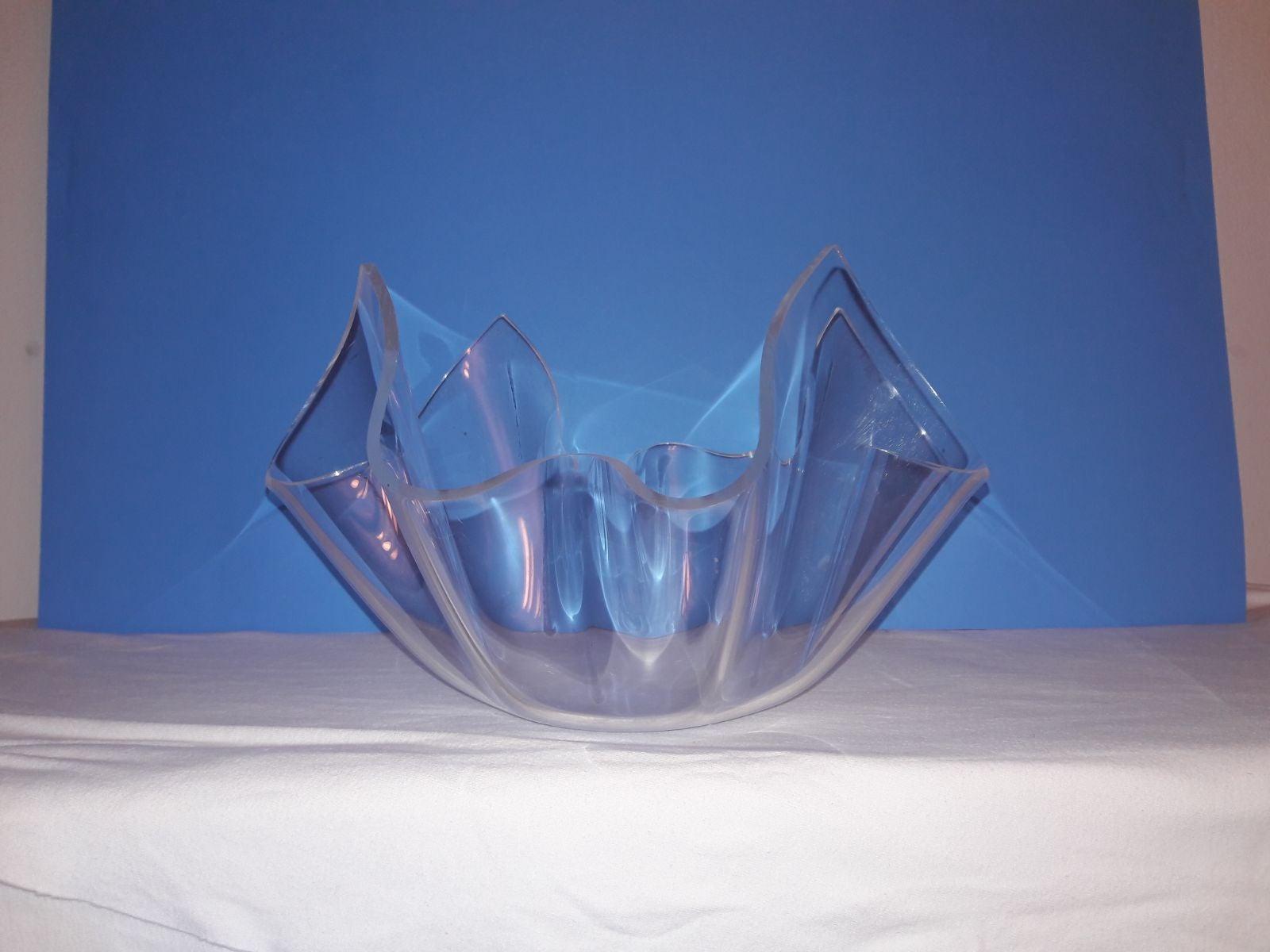 10 pc. Vintage Lucite Handkerchief Sala