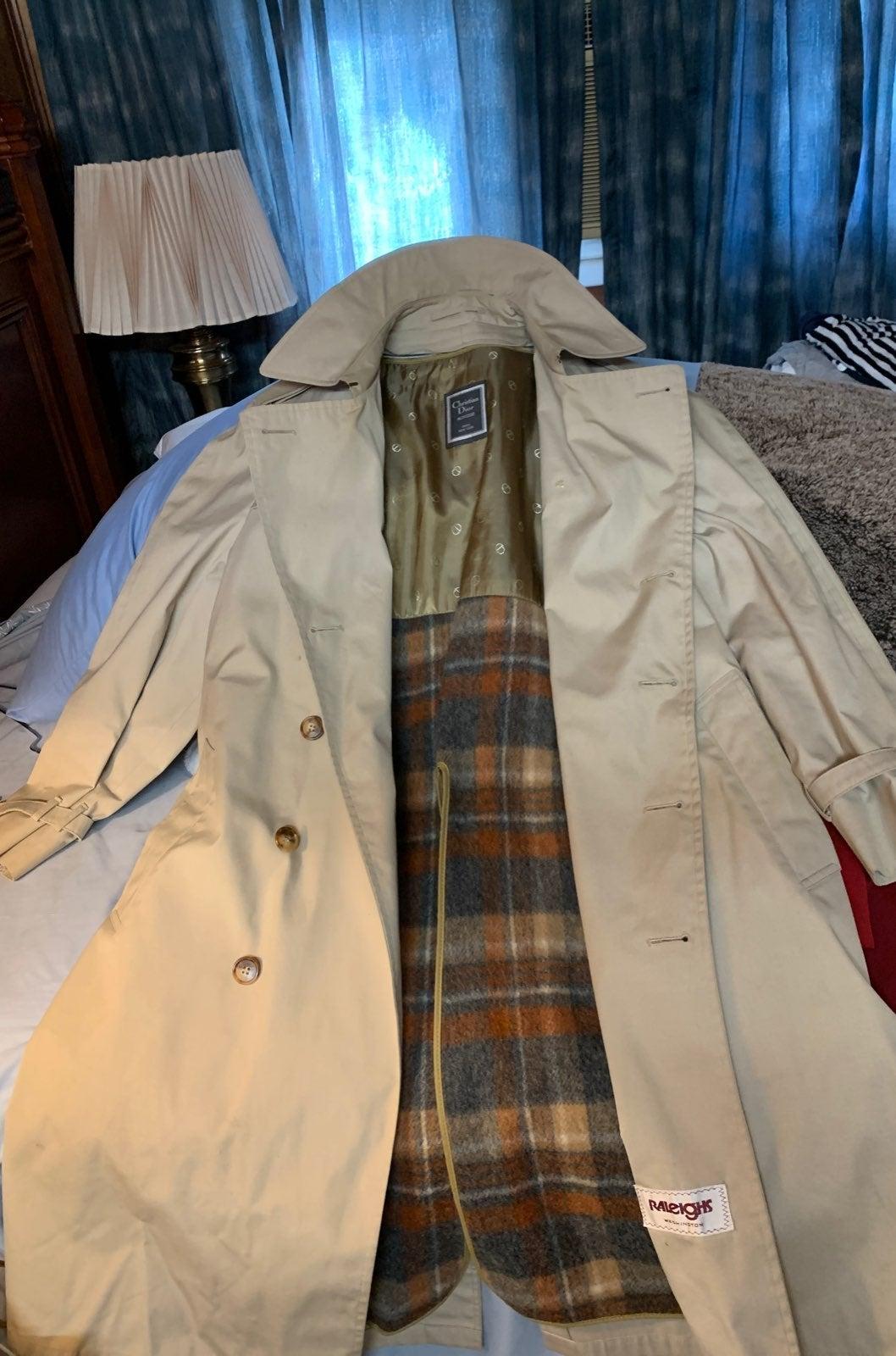 Christian Dior Trench Coat for Men