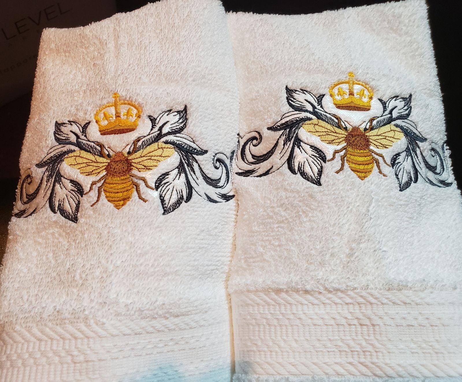 Custom embroidered Nepolianic Bee hand t