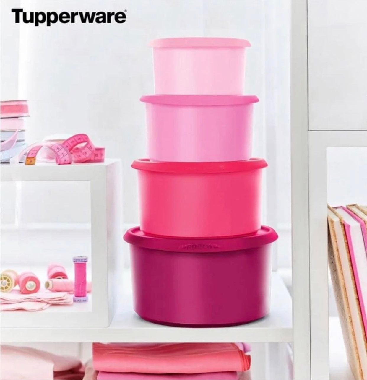 New!!!! Tupperware one touch canister