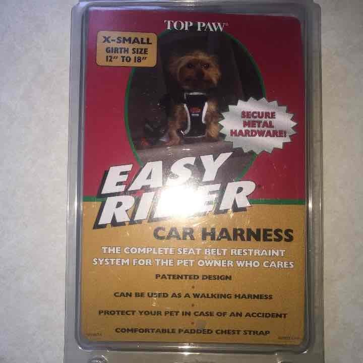 PET CAR HARNESS X-SMALL