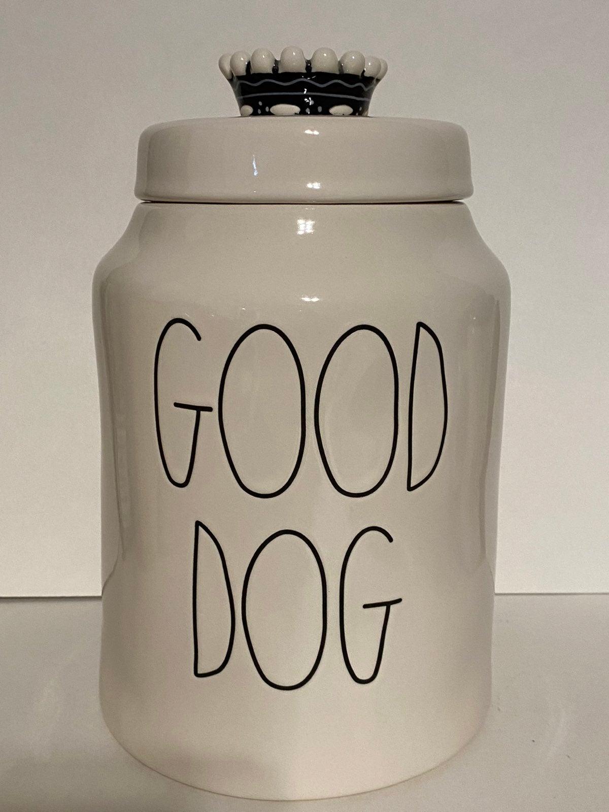 New Rae Dunn Good Dog Treat Canister