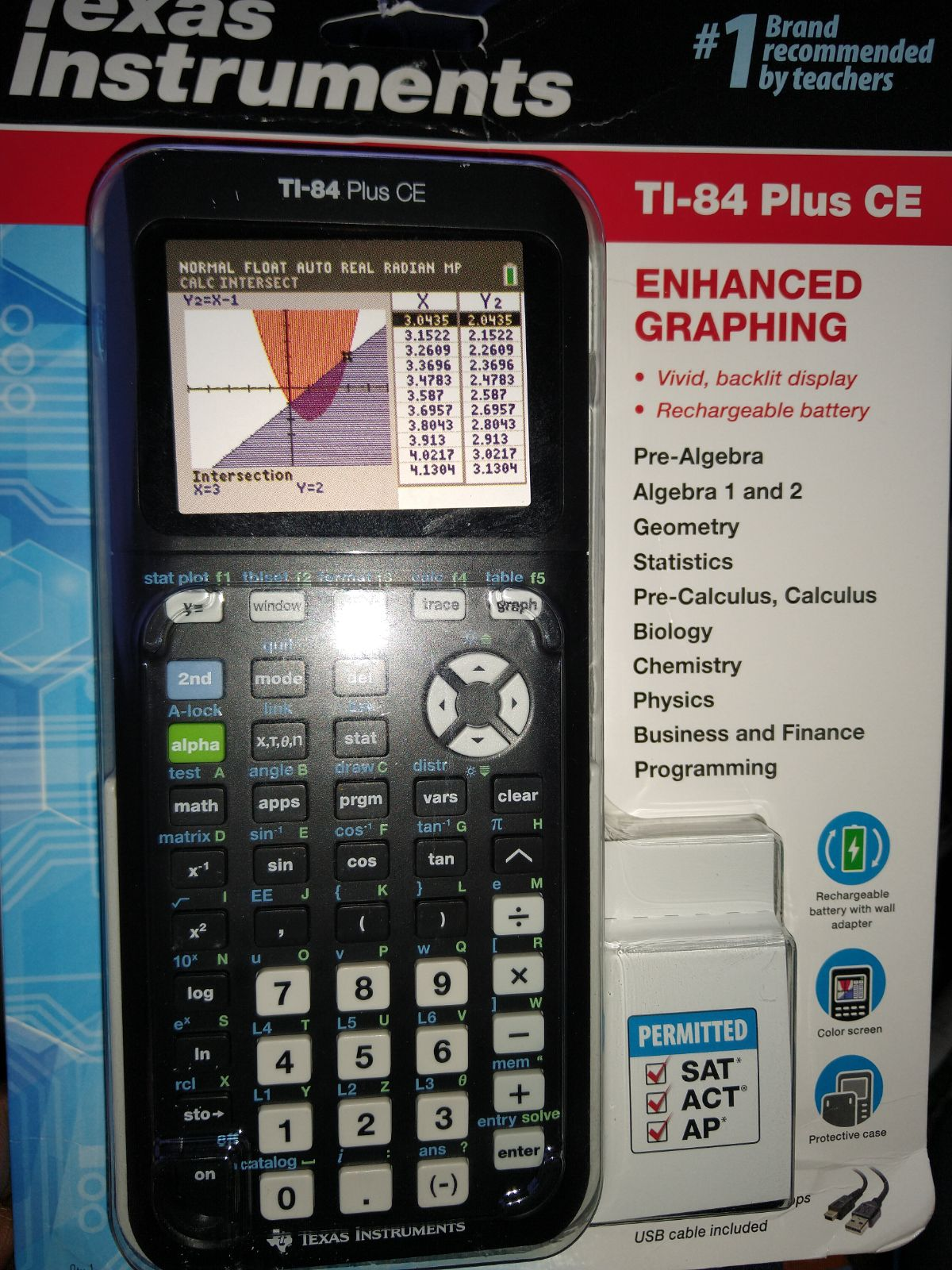 Texas Instruments TI-84 Plus CE