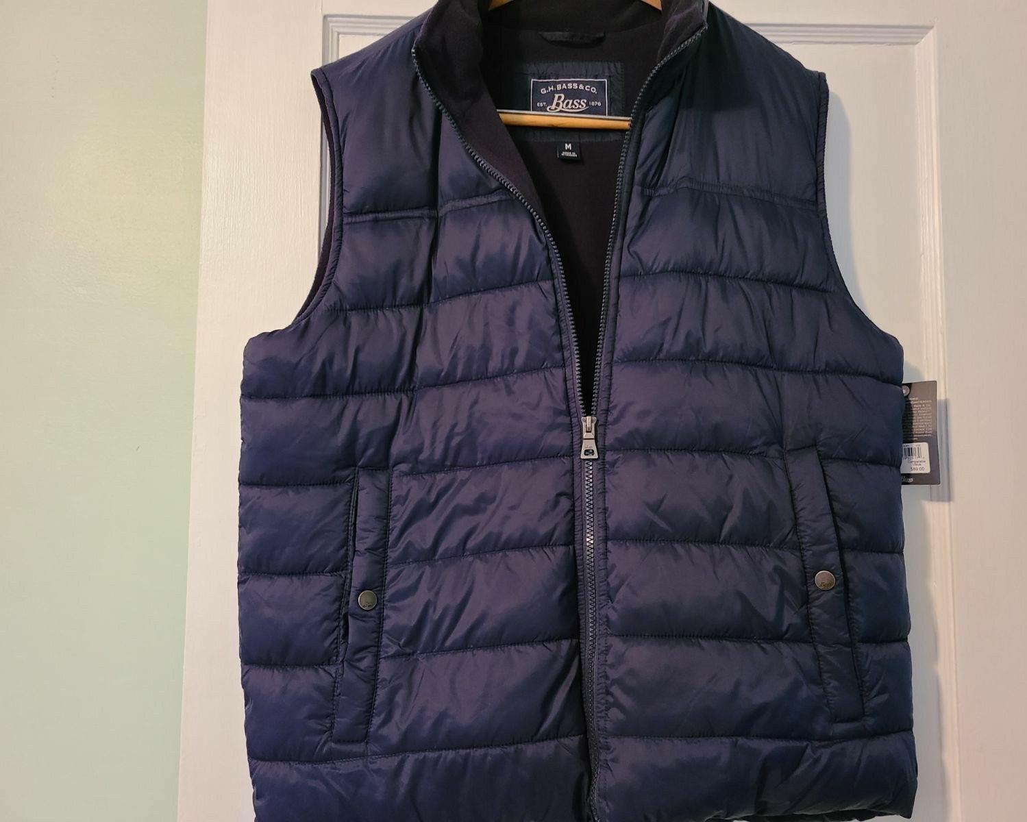 Fleece Men's Puffer Vest