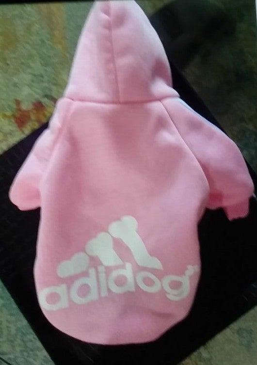 NWOT Pink Dog Sweater or Shirt adidas