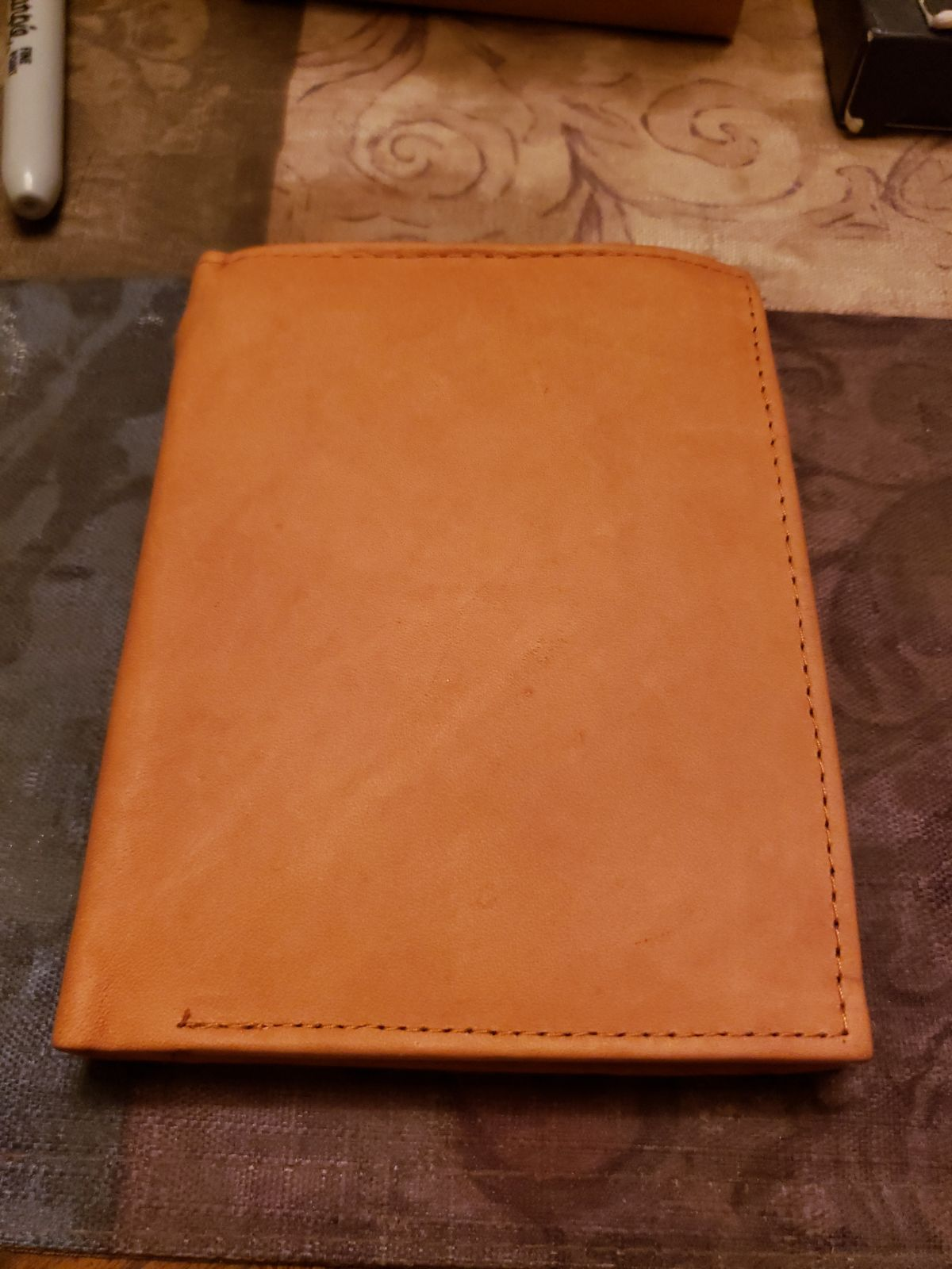 Men's leather wallet new