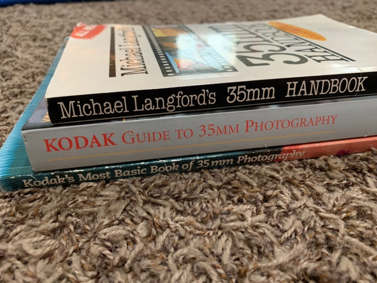 Lot Of Three Vintage Photography Books!