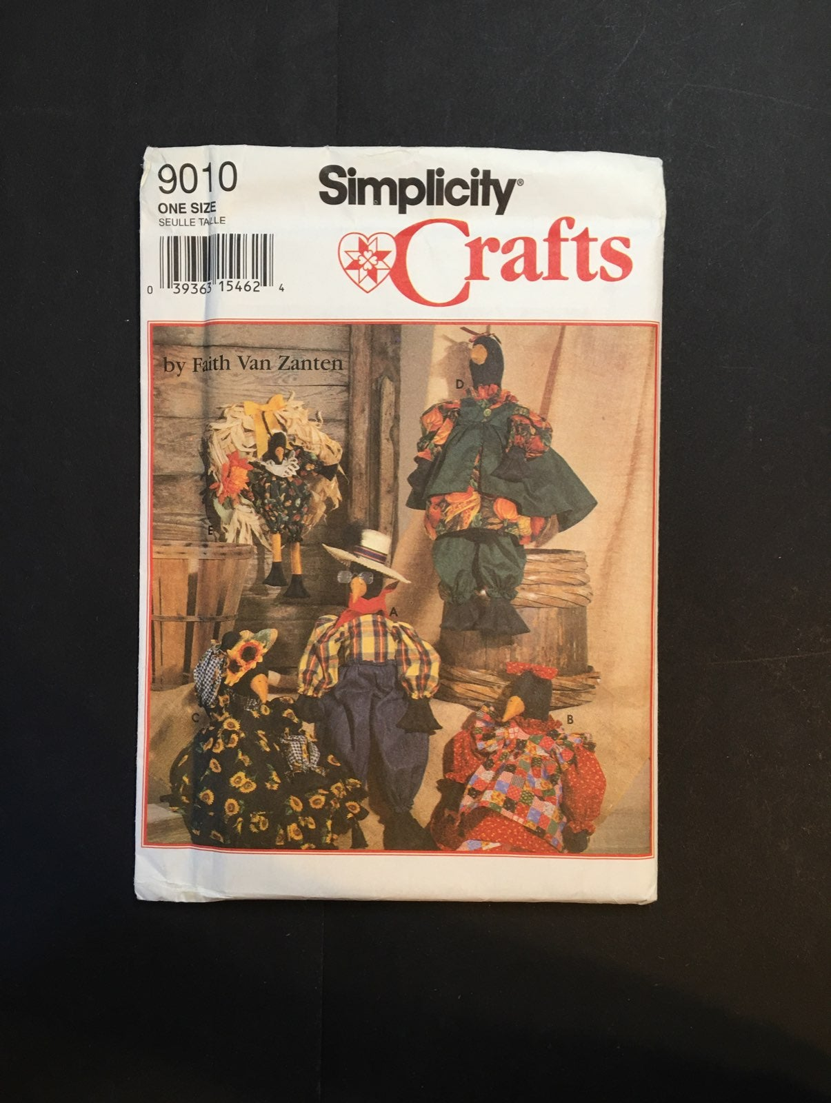Crafts Crows Pattern