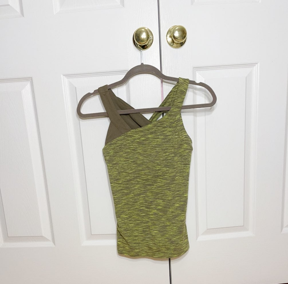 Lucy women's green tank top