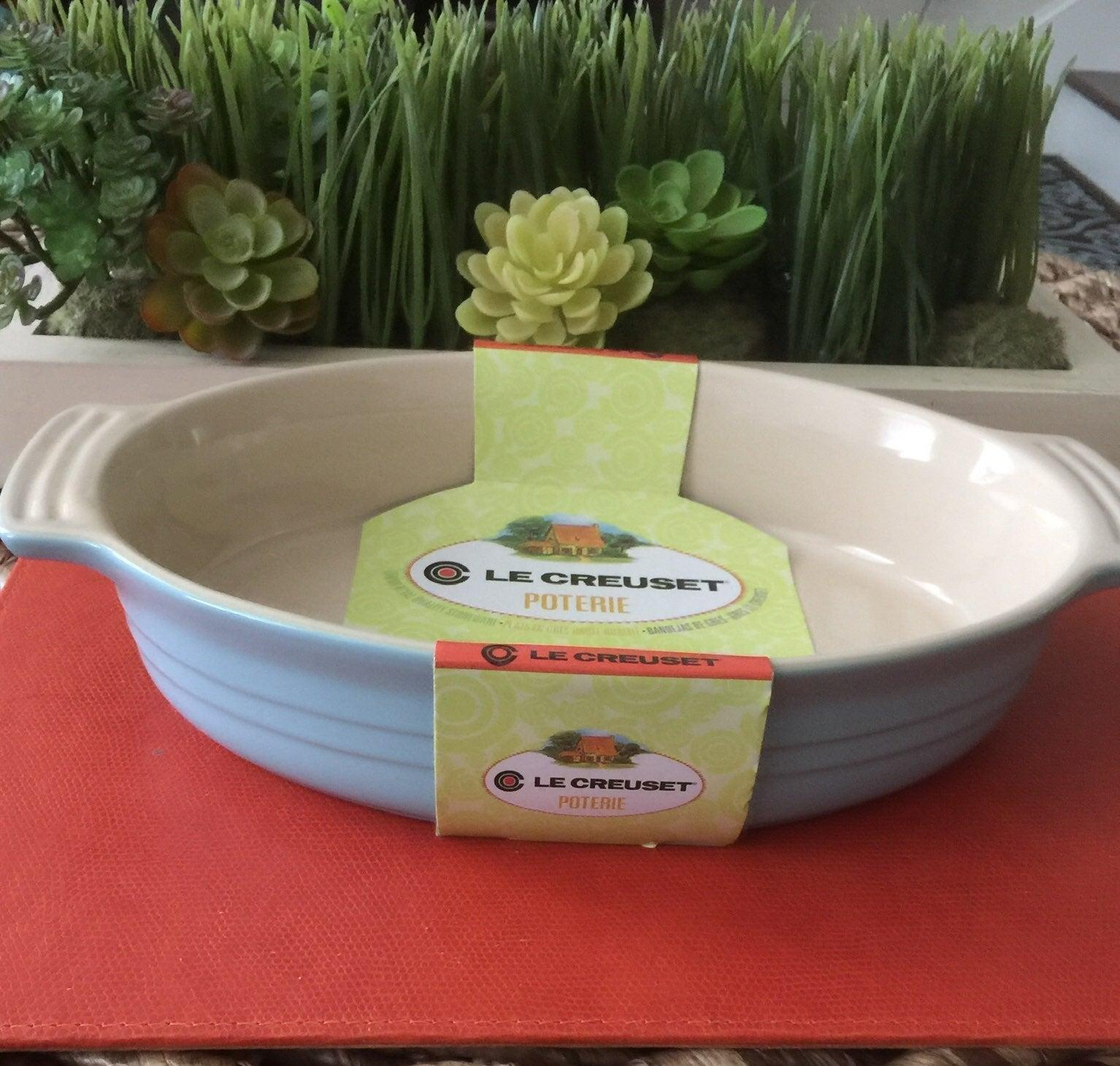 Le Creuset - Oval dish - Sky Blue