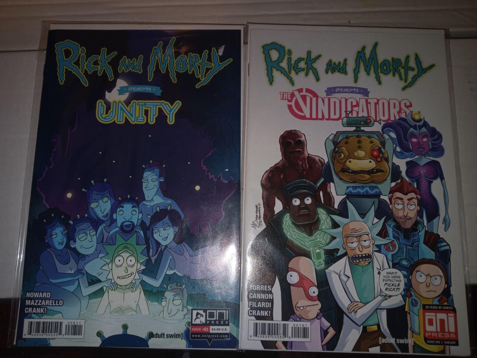 Rick and Morty comic books