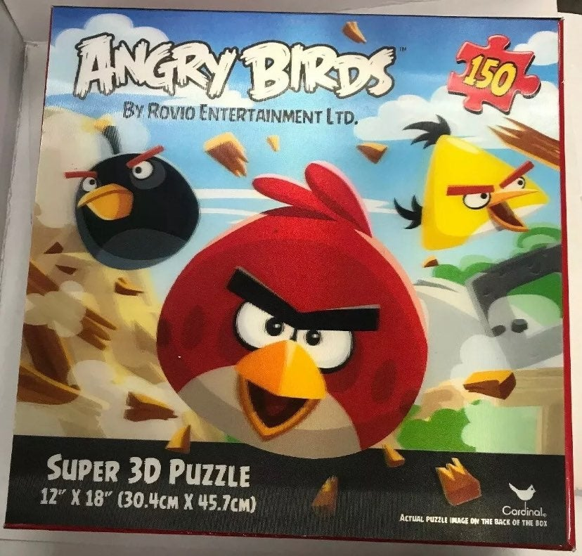 ANGRY BIRDS 3D PUZZLE 150 PIECES