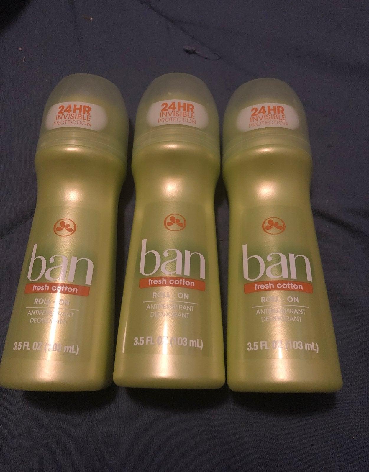 bundle of deodorants