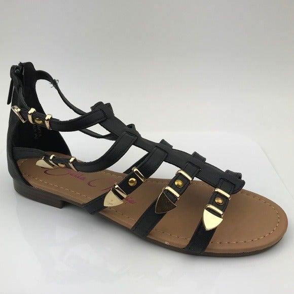 Bella Marie Draft-8 Black Sandal