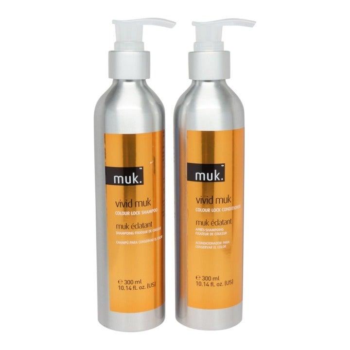MUK Vivid Muk Colour Lock Shampoo & Cond