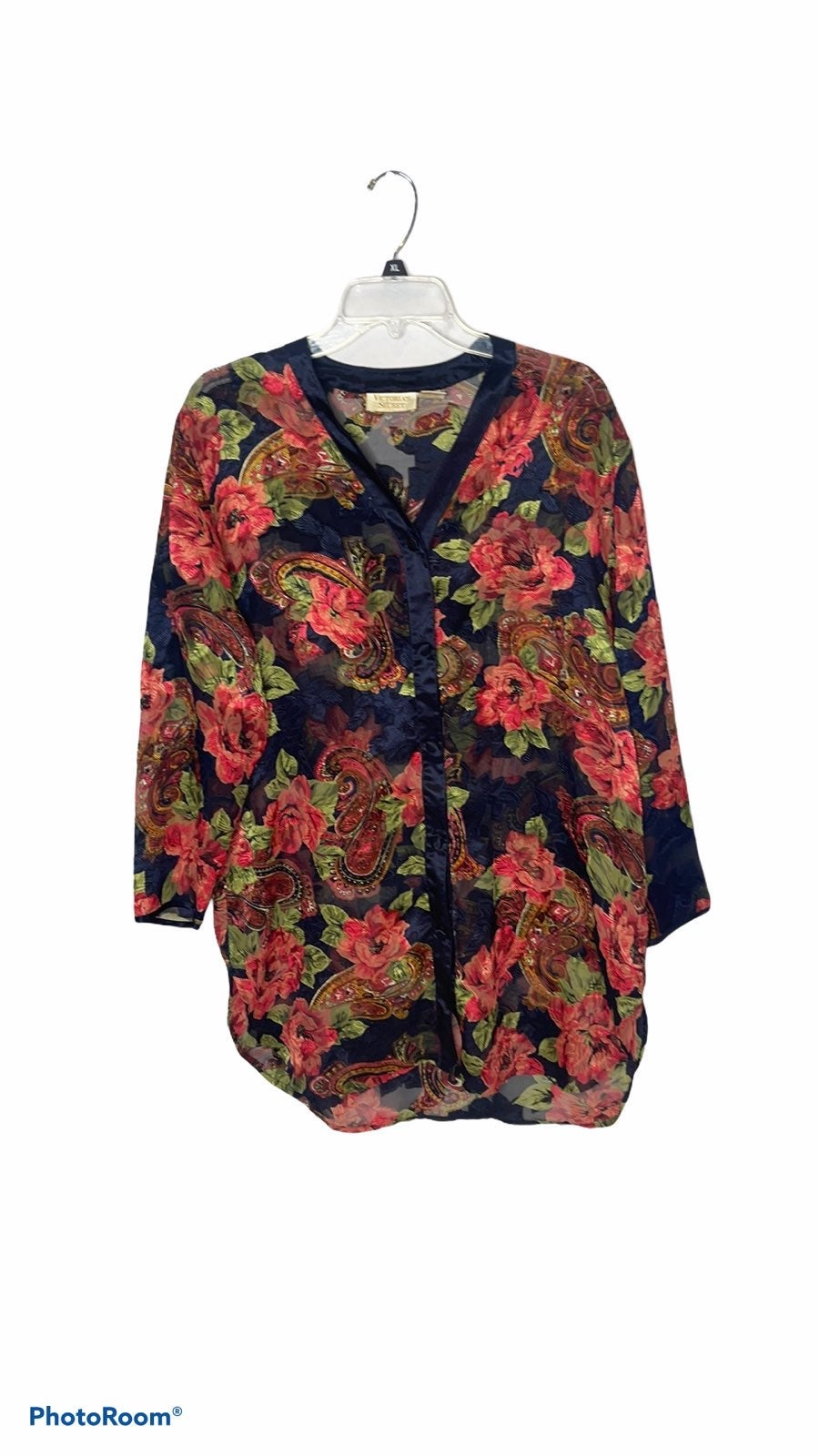 Victoria Secret Gold Label Pajama Shirt.