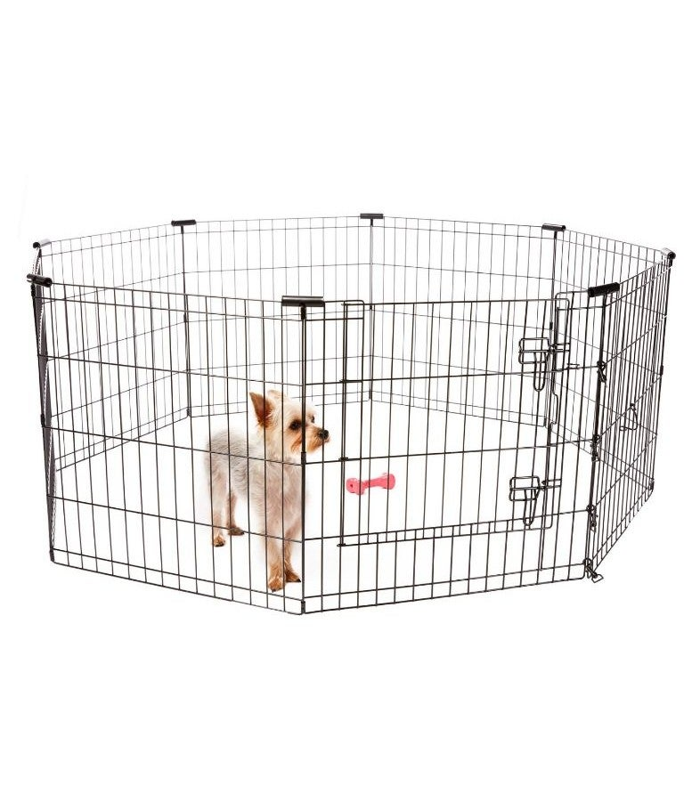 Dog Playpen with Replacement Pan