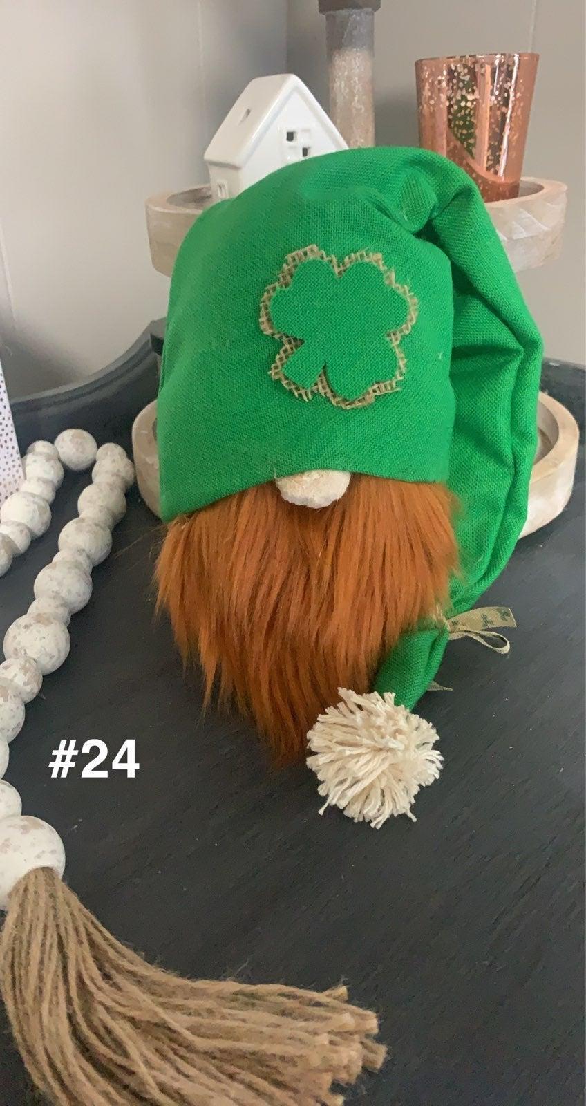 St. Patricks Day gnome gnomes