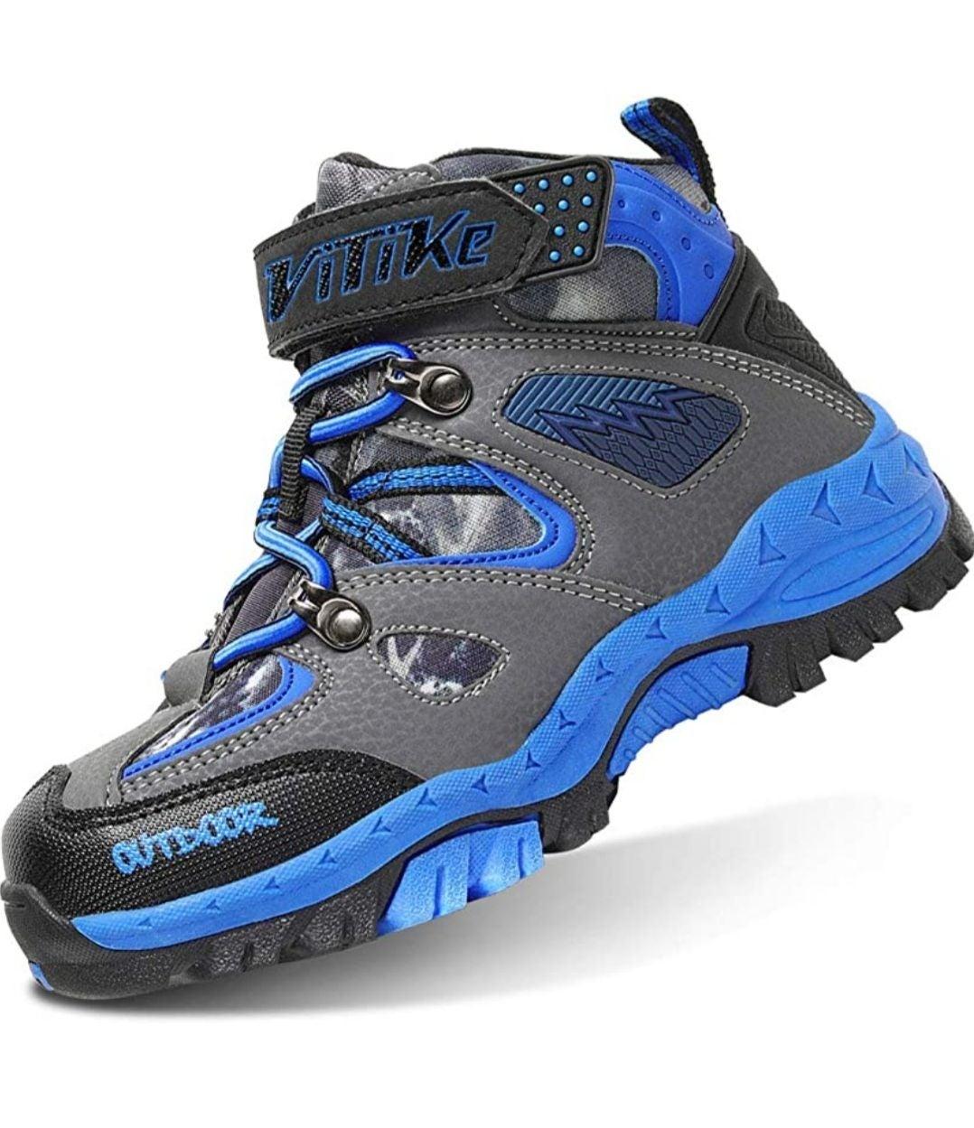 Vitike kids outdoors hiking boots size 4