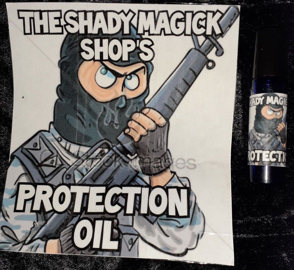 THE SHADY MAGICK SHOP'S PROTECTION OIL