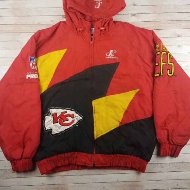 VTG 1990s KC Chiefs Sharktooth Jacket