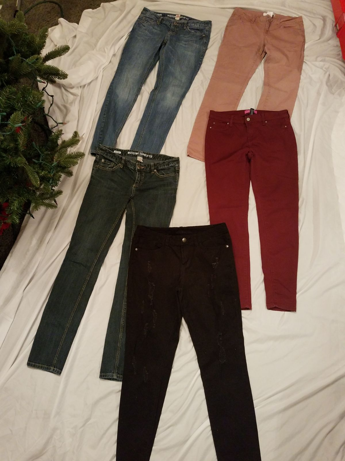 Junior girl's jeans size 9