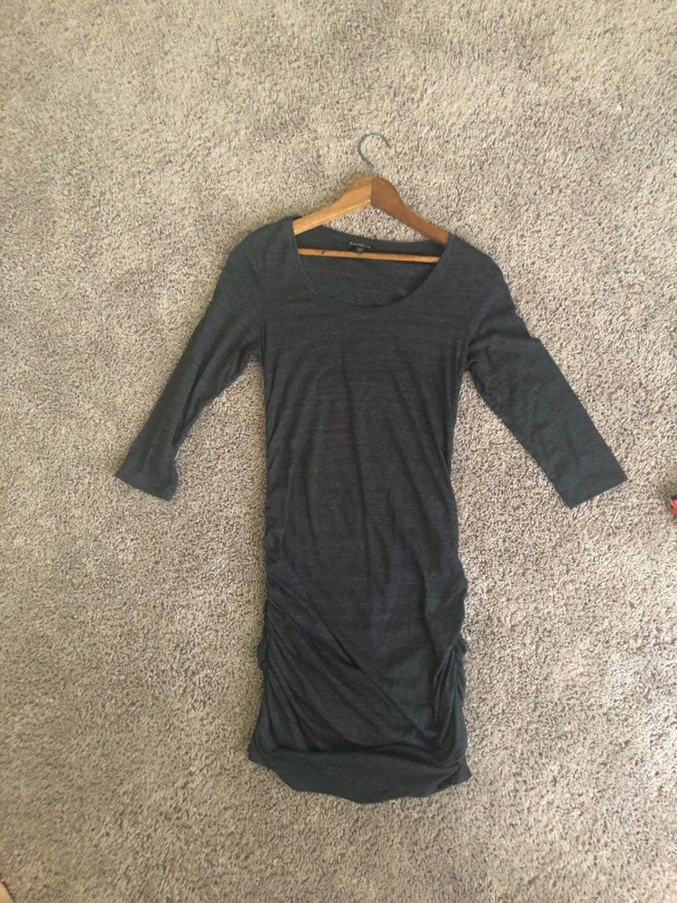 Express Maternity Grey Dress