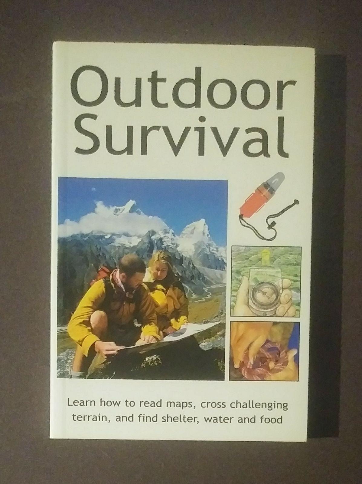 Outdoor Survival Garth Hattingh Book