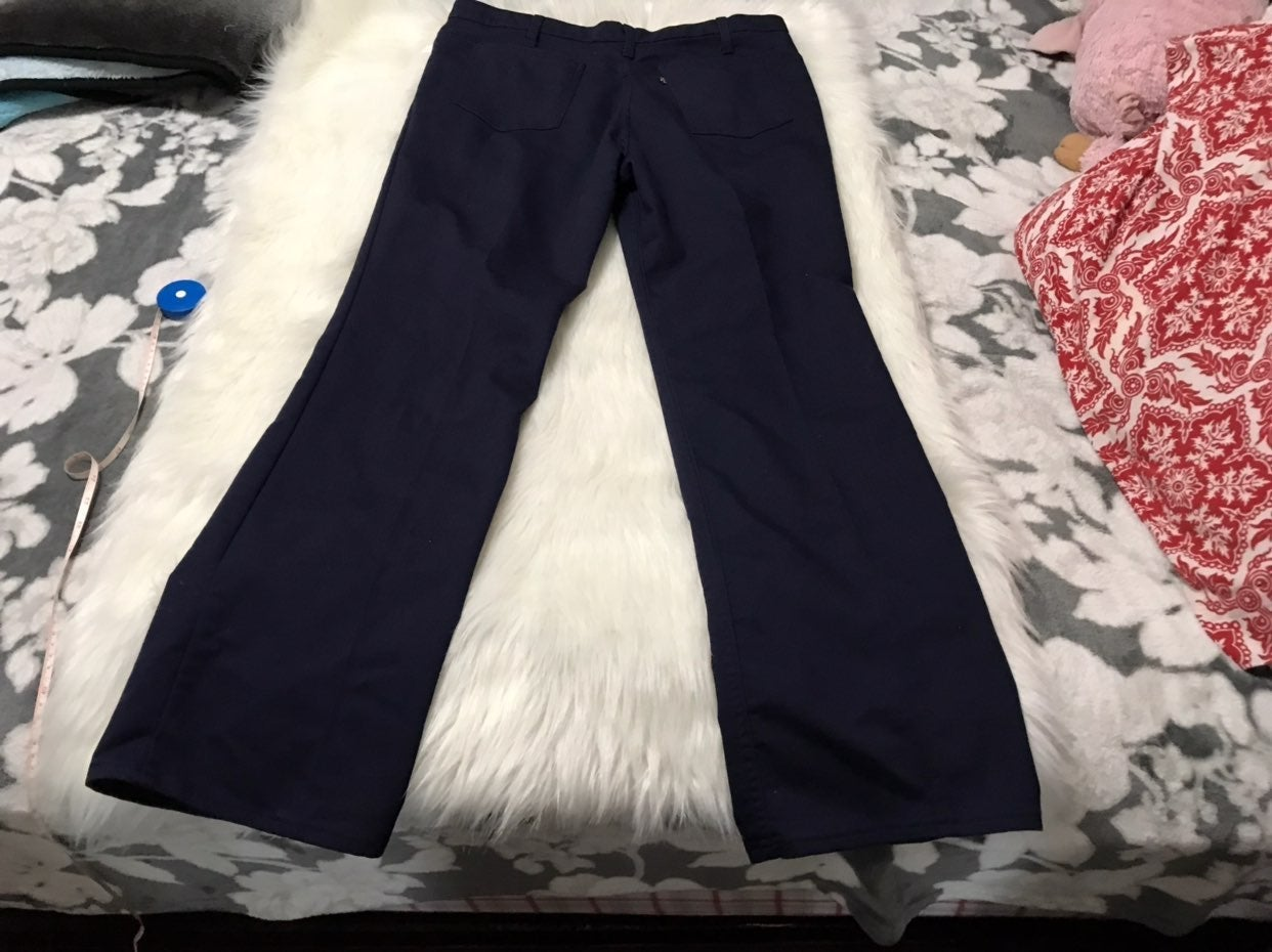 Vintage 70's Levi's Navy Pants