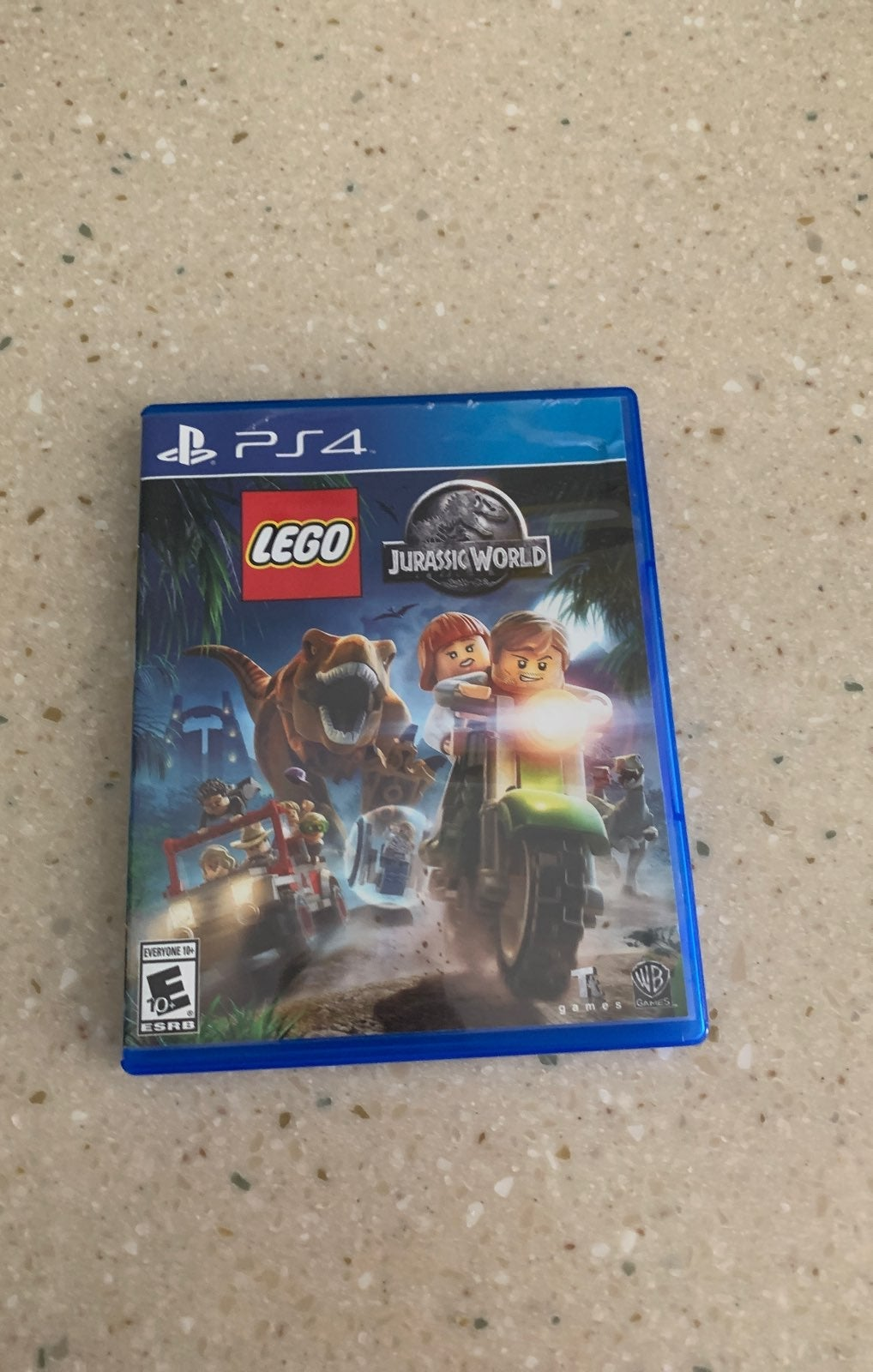 PS4 jurassic wold lego