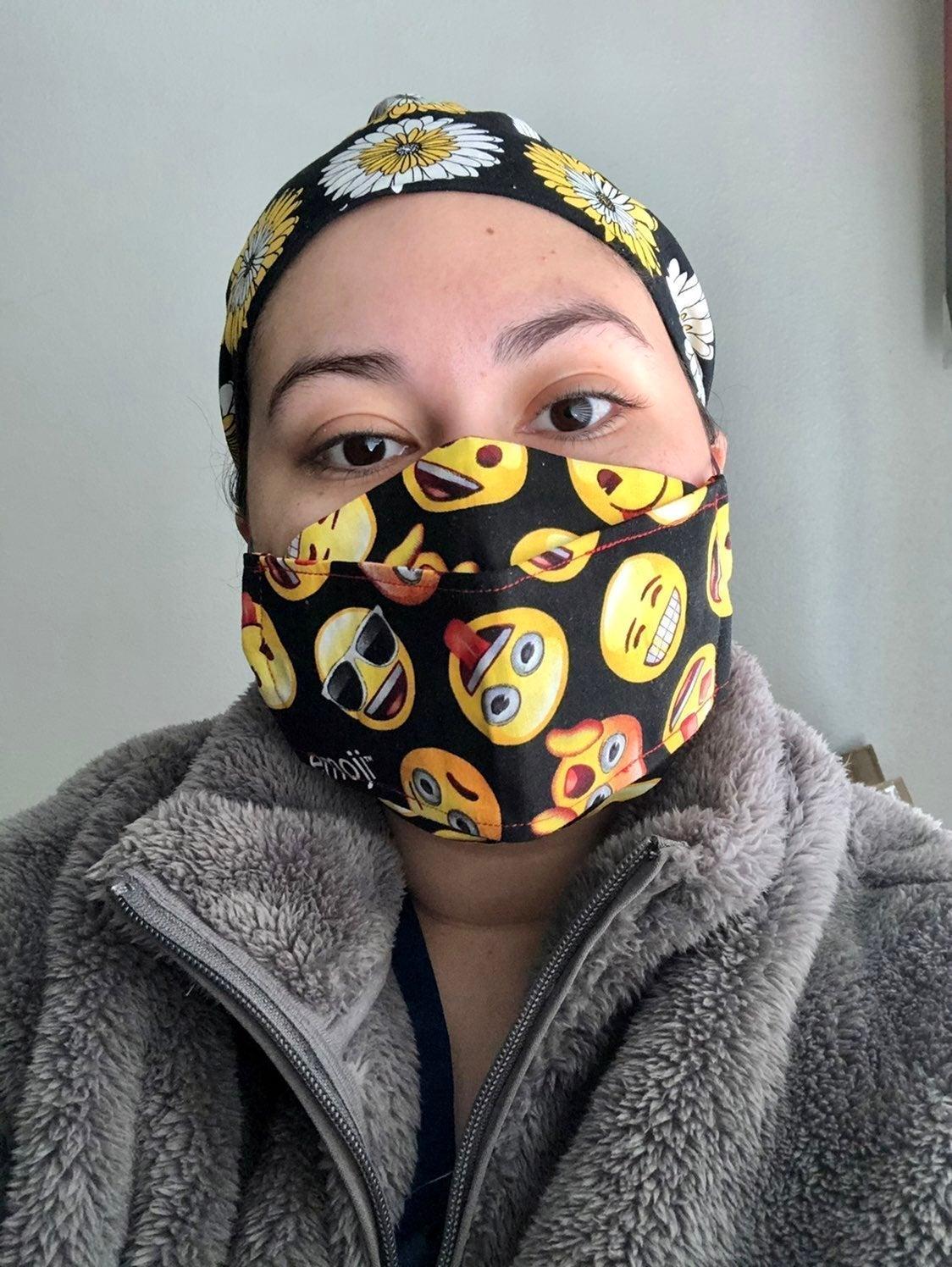 3D Face Mask 3cnt.
