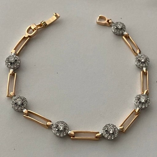 14k Yellow Gold plated bracelet