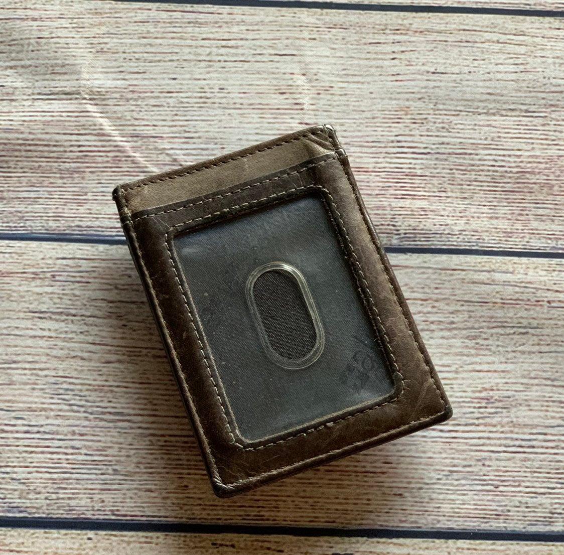 AlpineSwiss Leather Wallet