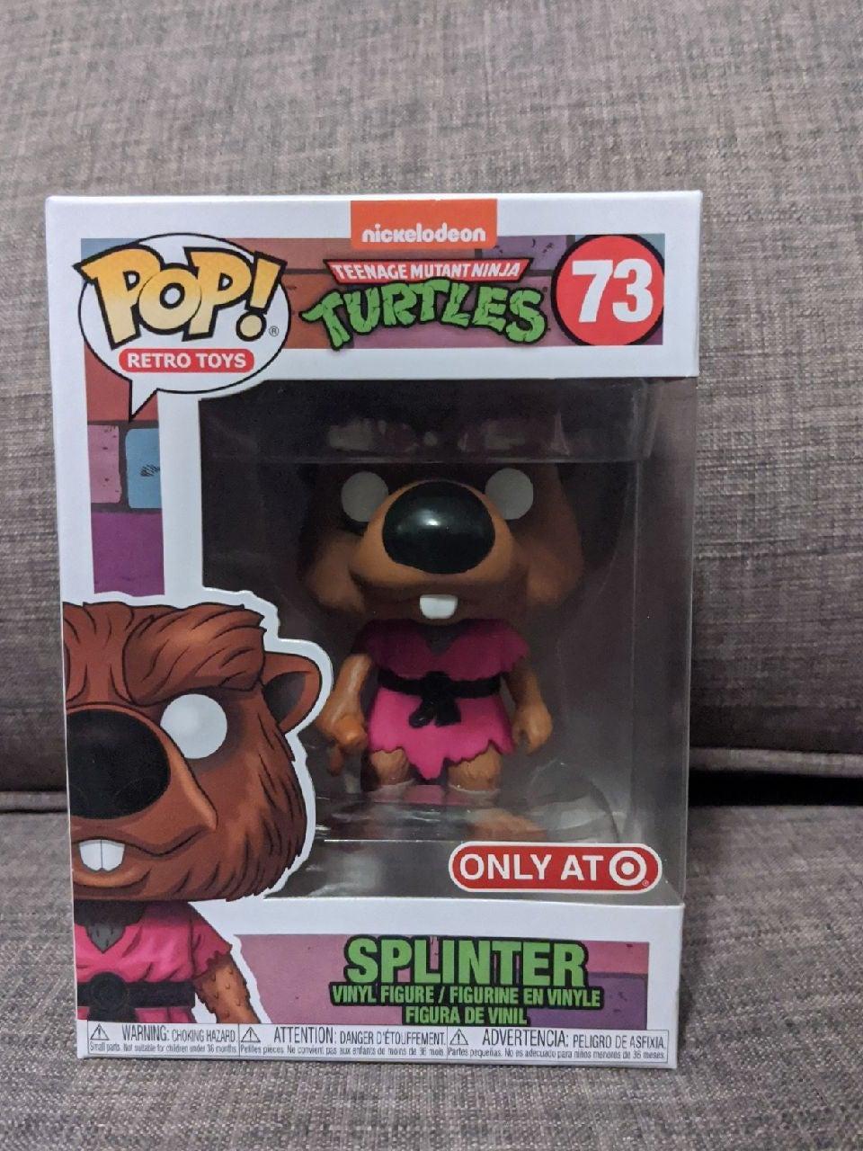Funko Pop TMNT Master Splinter Exclusive