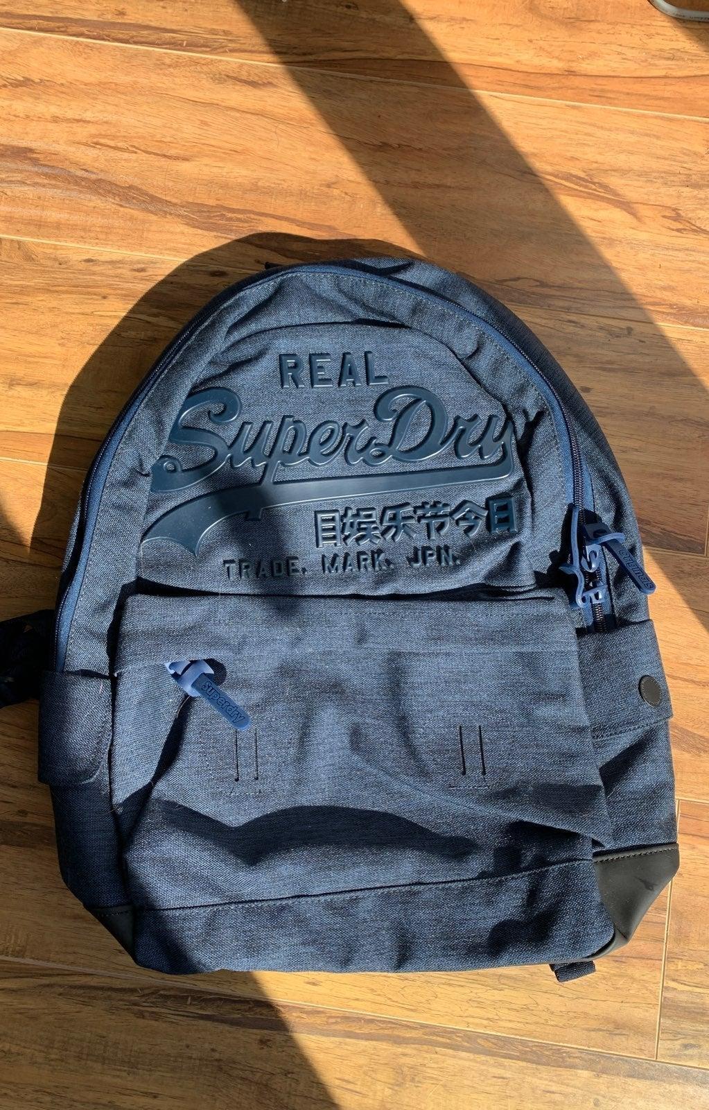 Superdry backpack NWOT
