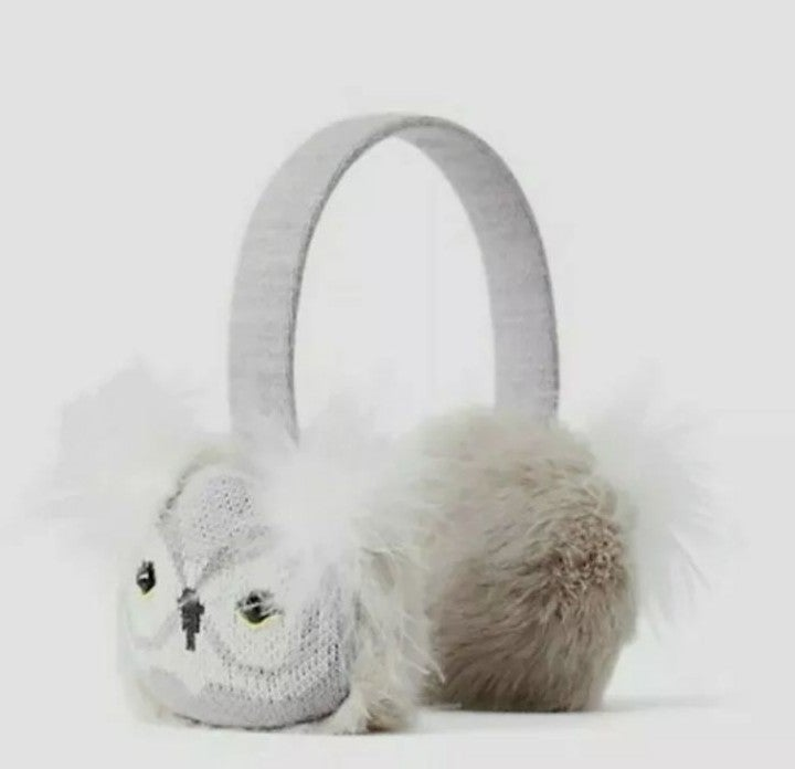 Kate Spade Who Me Owl Earmuffs