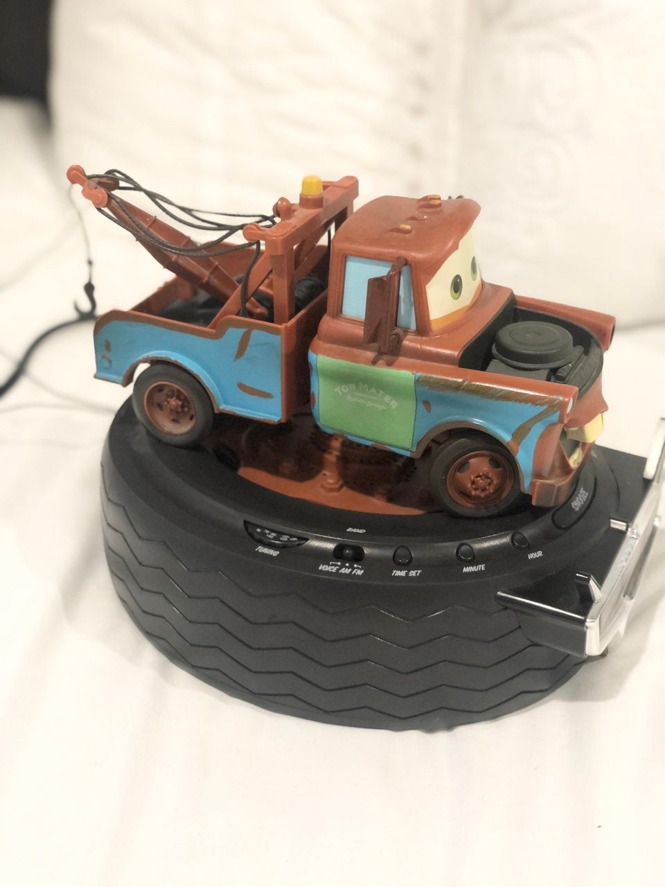 Cars Mater Talking clock