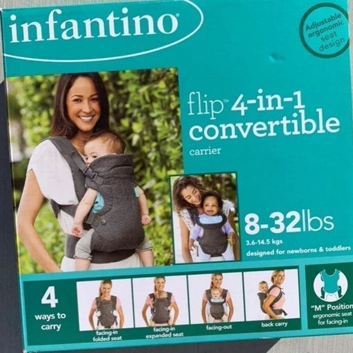 Infantino flip 4-in-1 Baby Carrier