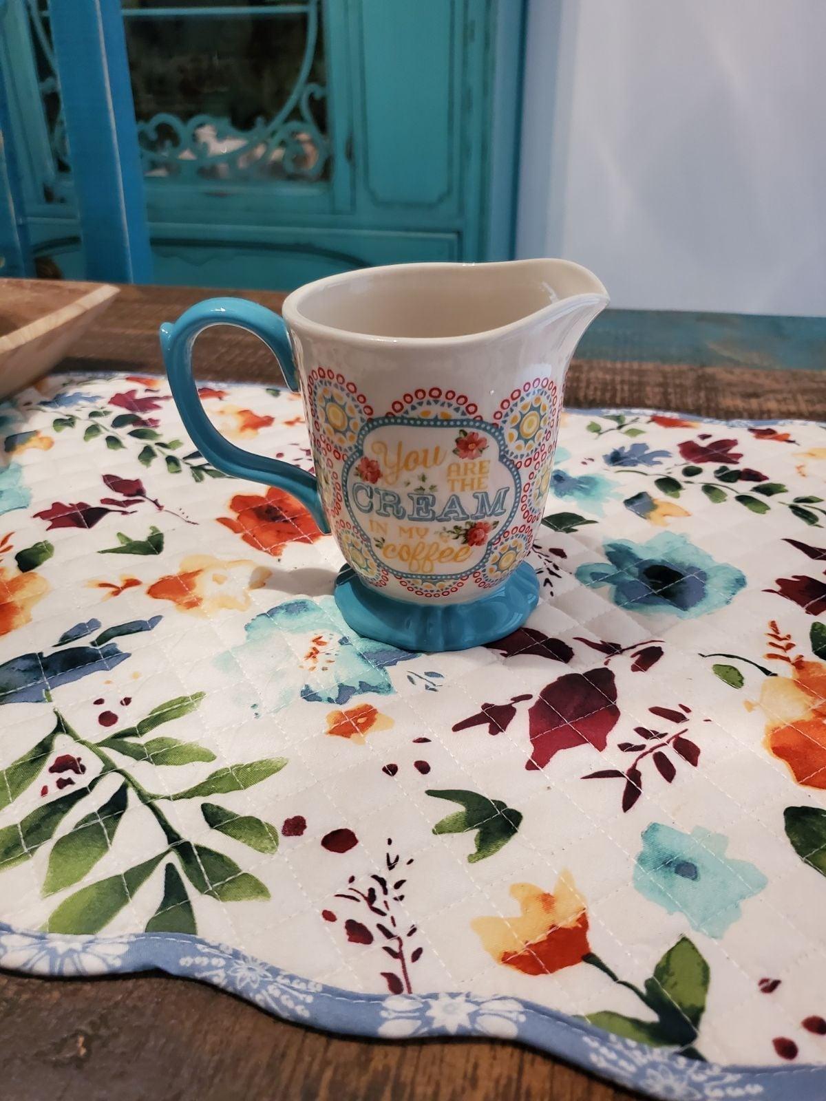 Pioneer Woman Creamer Cup