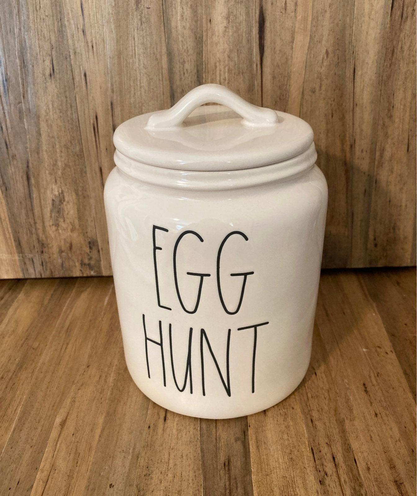 Rae Dunn Egg Hunt Canister