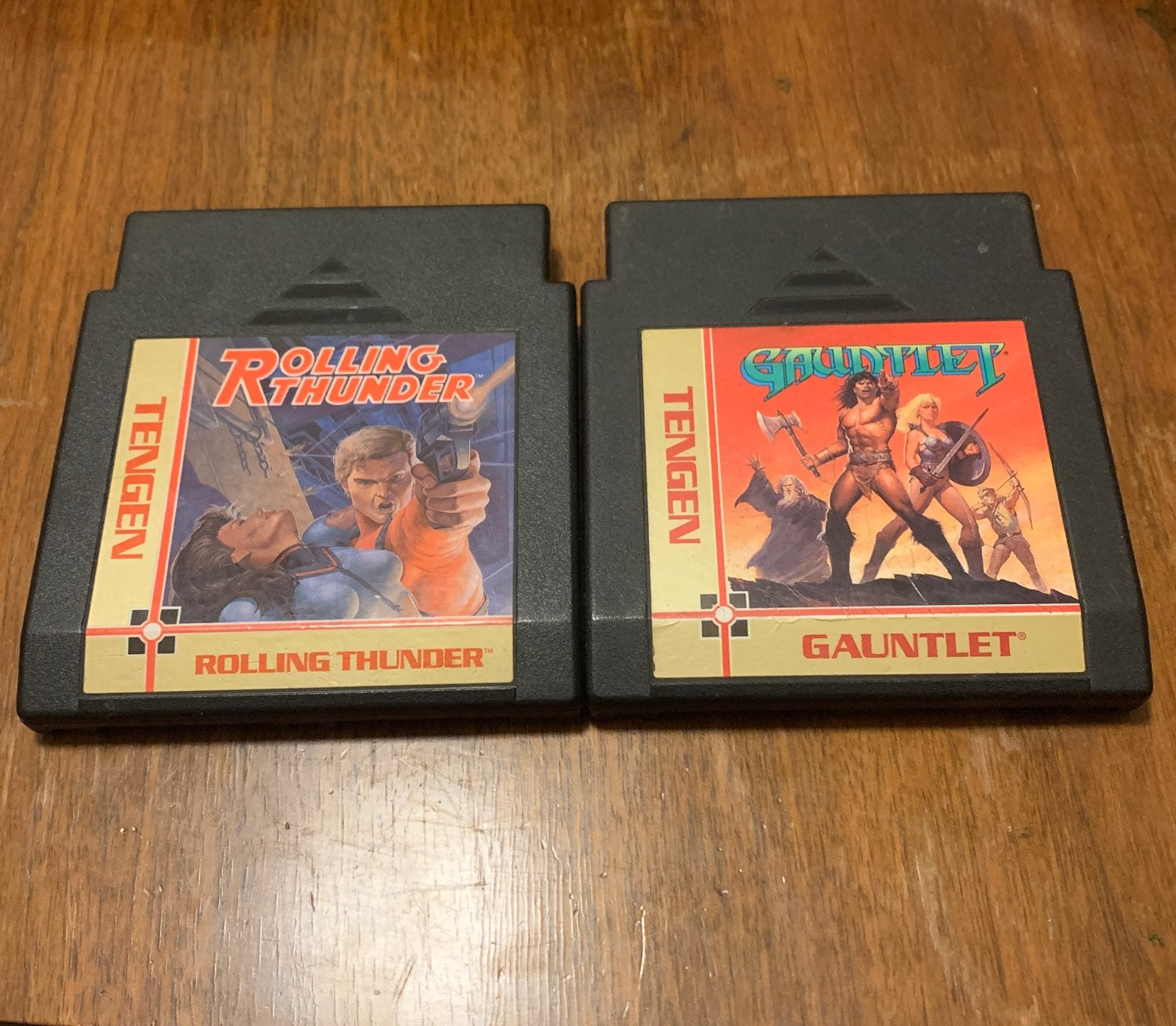 Rolling thunder and gauntlet for nes