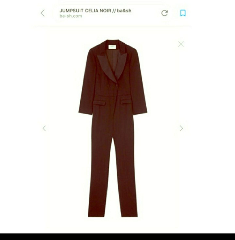 Ba&sh Celia Tuxedo Jumpsuit