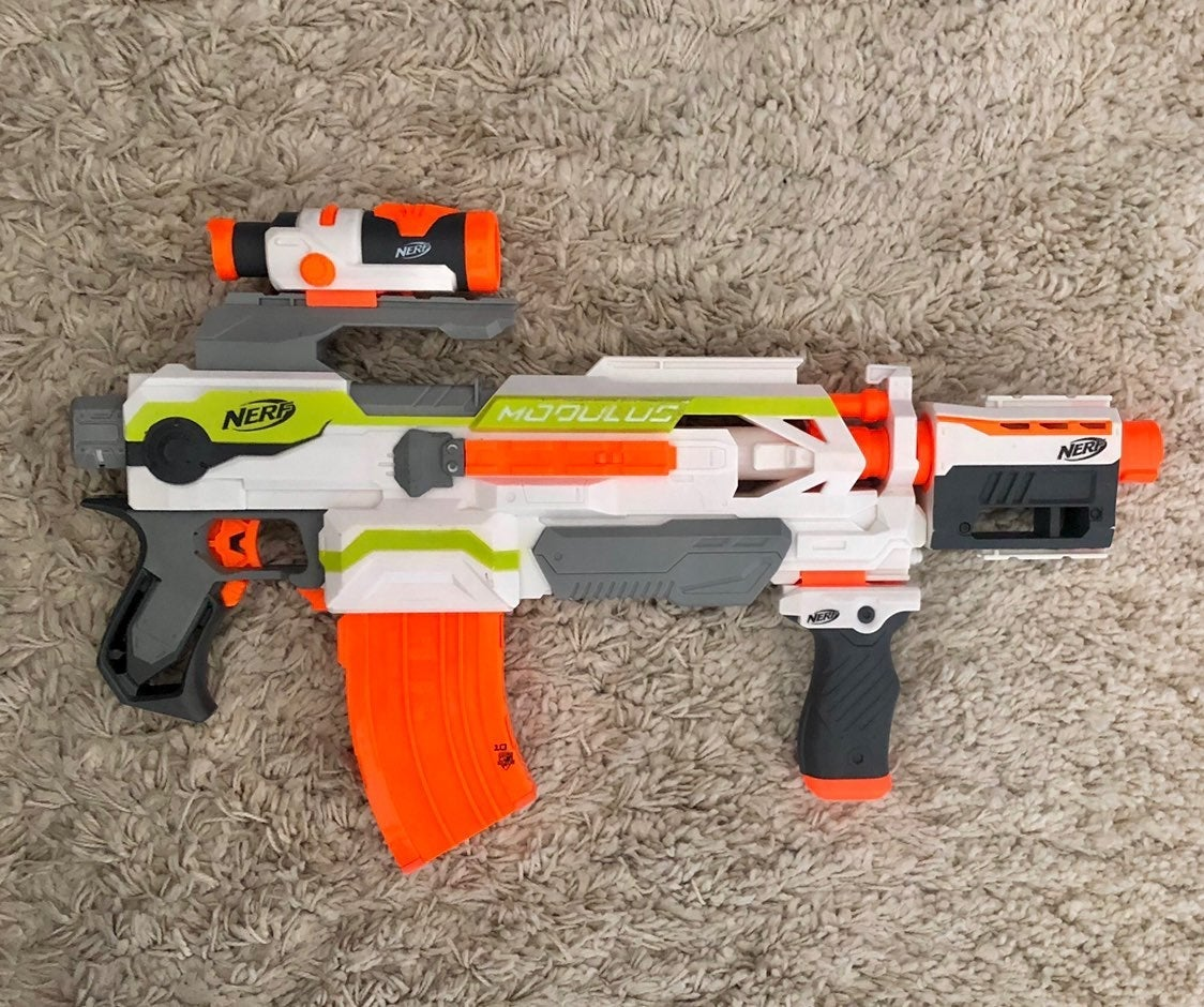Nerf Modulus with Attachments