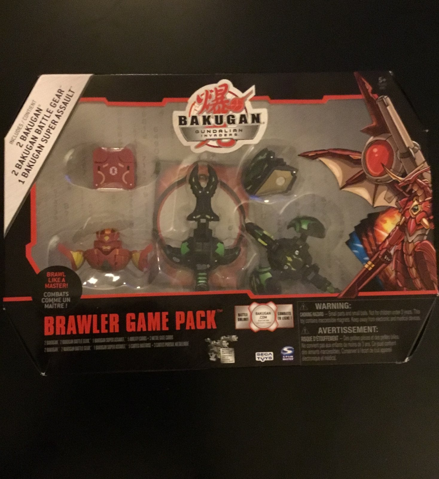 Bakugan Gundalian Invaders Brawler game