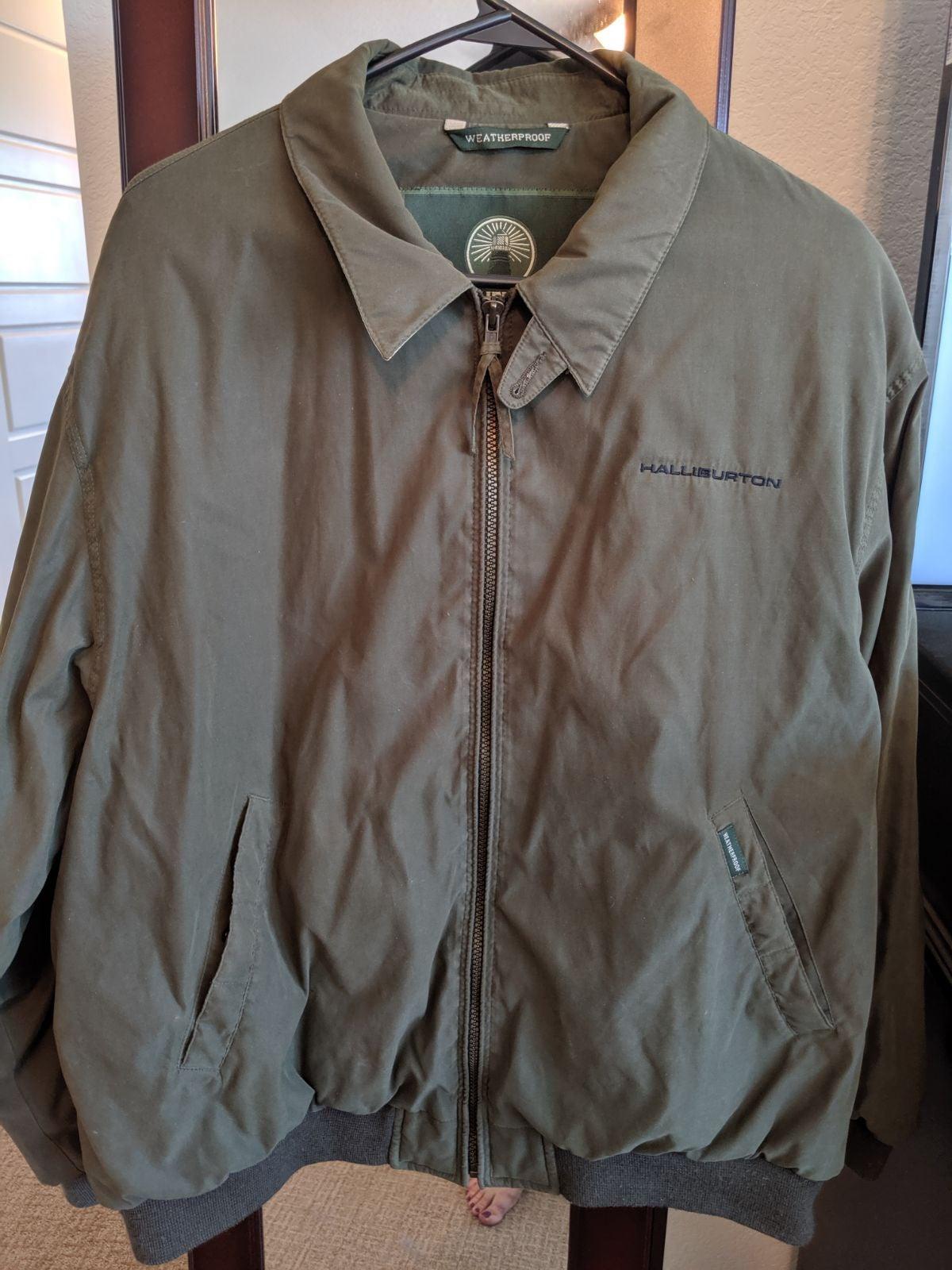 XL Weatherproof Halliburton Jacket