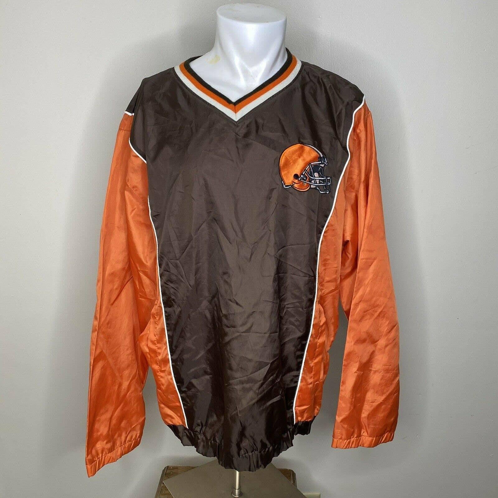 NFL CLEVELAND BROWNS Vintage Windbreaker