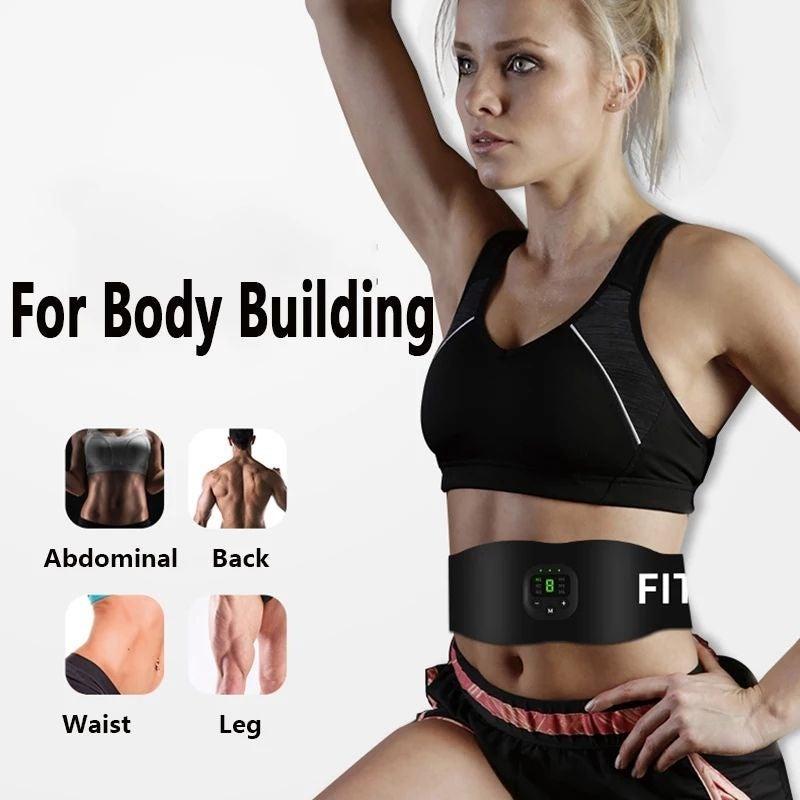 Women Abdominal Belt Muscle Stimulator T