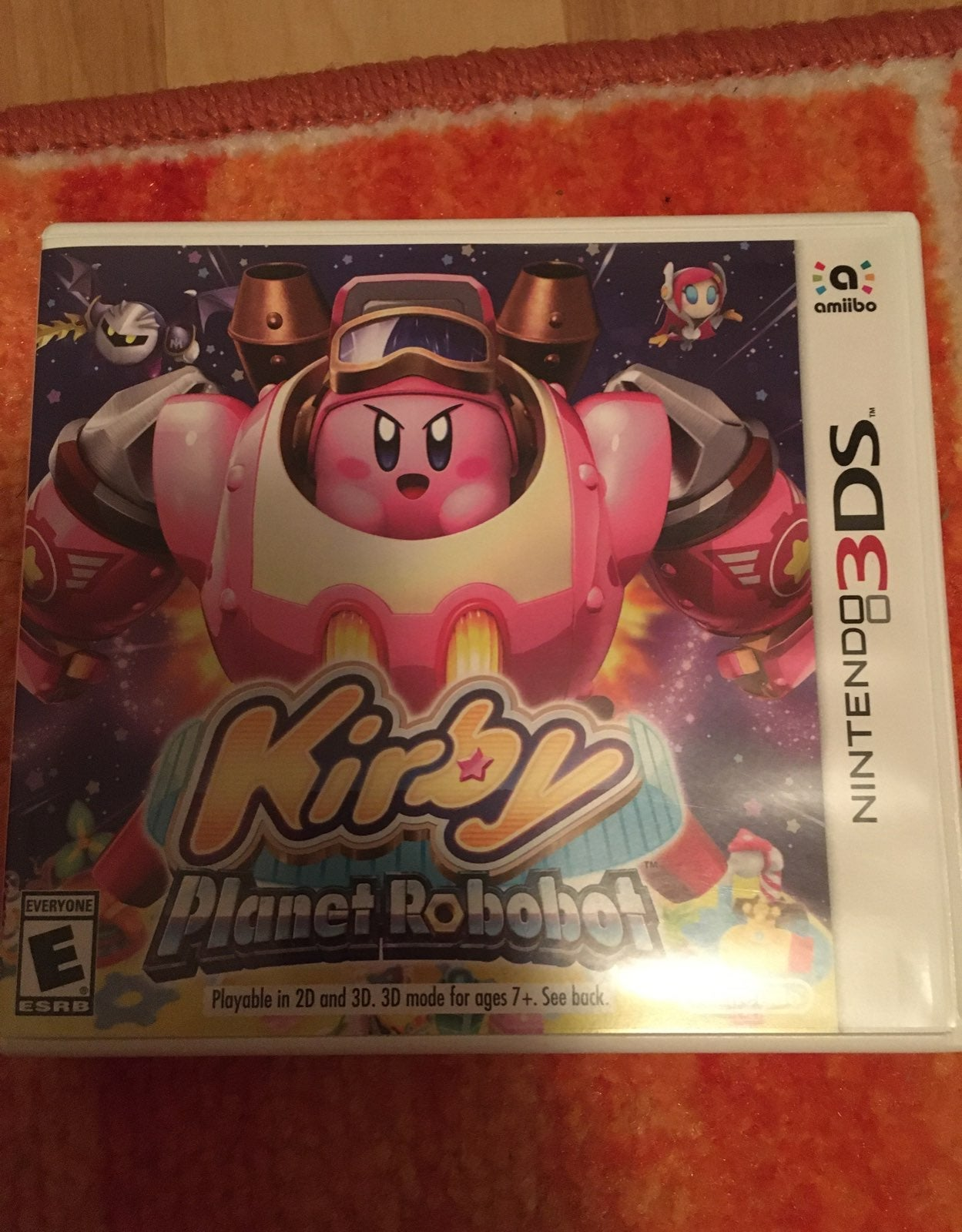 Nintendo 3ds game kirby planet robot