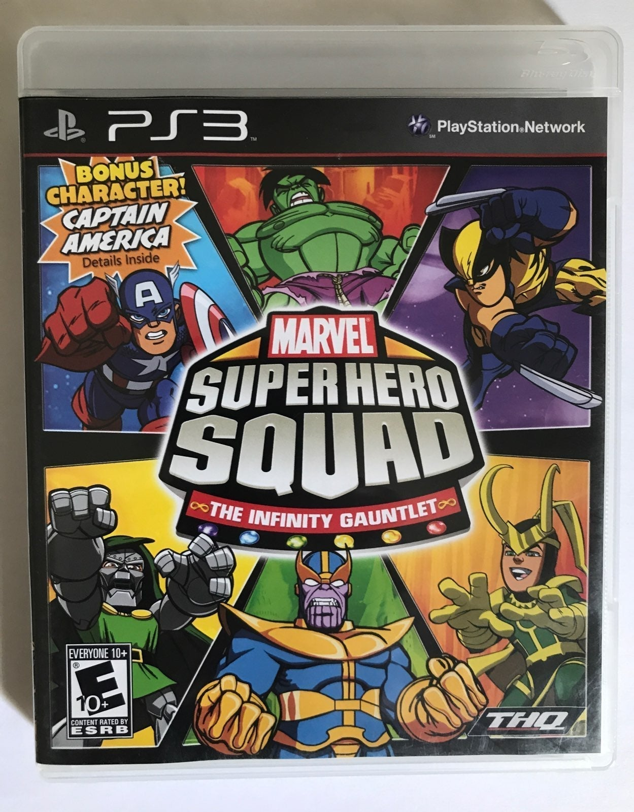 PS3 Marvel Super Squad - Preowned